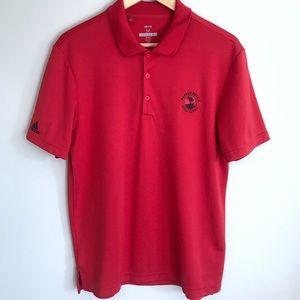 Men's Pebble Beach Golf Links Adidas Polo Shirt